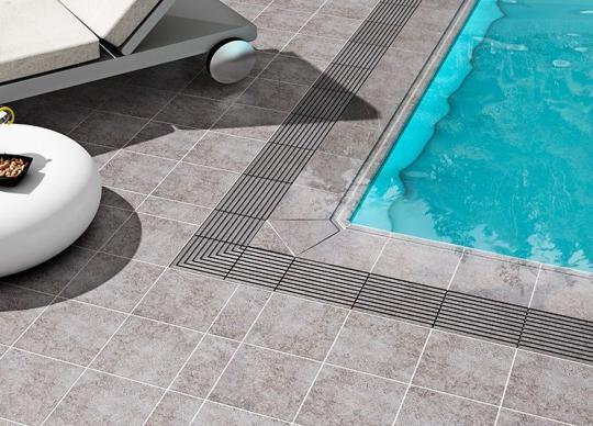 1-Dlažba Fuji, moderní design, bazénové prvky. Cena od 965 Kč/m2