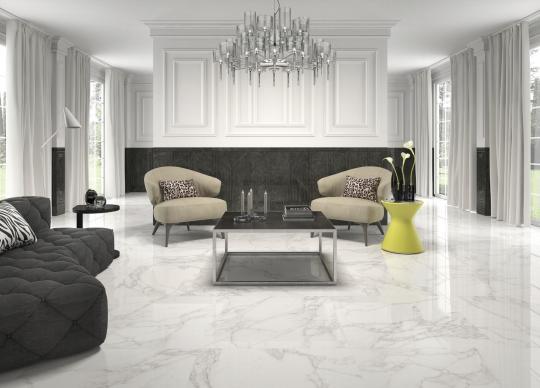 Mramorová, kalibrovaná dlažba Crystal white 60x60, 75x75 <a href='http://www.loskachlos.cz/shop/file/1756/'>Crystal white</a>