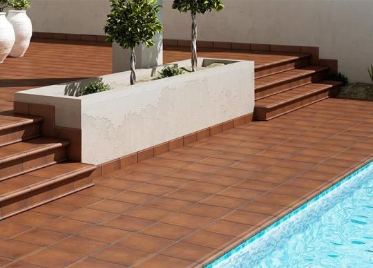 20-Venkovní dlažba Nature včetně schodového programu a bazénových krajovek. Cena od 870 Kč/m2