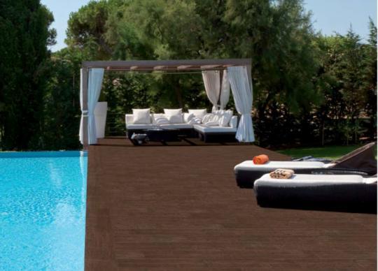 4-Venkovní bazénová dlažba imitující dřevo RG Lovely 1399,- Kč/m2