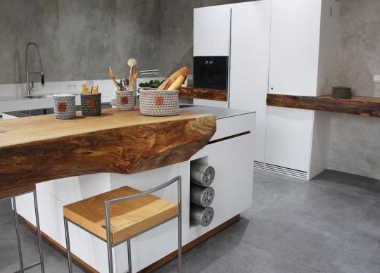 Kuchyně ze showroomu ve Zlíně
