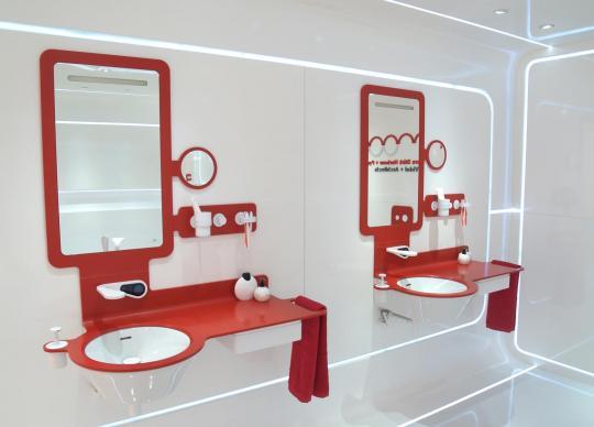 Sanitární keramika Mood vybavená moderními technologiemi