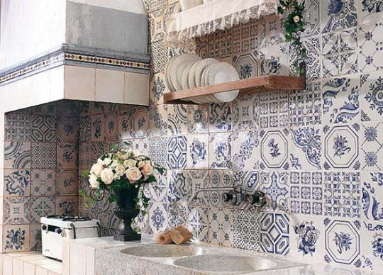 Aranjuez, dekorativní obklady vhodné pro selský styl kuchyní <a href='http://www.loskachlos.cz/shop/file/1645/'>Aranjuez</a>